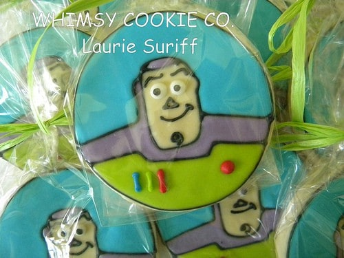 Toy Story Party Ideas - Buzz Light Year Sugar Cookie