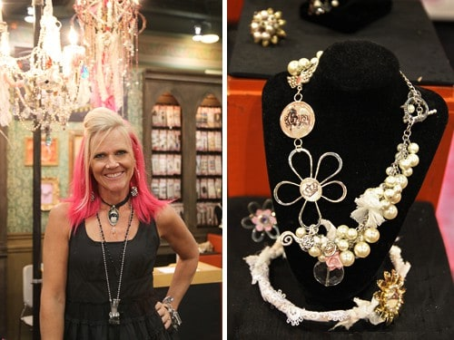 Amy Labbe designer of the Art-i-Cake Jewelry Line at Michaels