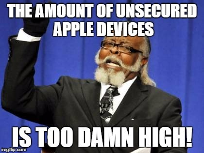 secure your Apple devices