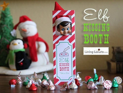 Elf on the Shelf Ideas ~ Over a month of hilarious and easy ideas for your elf at Christmas. LivingLocurto.com