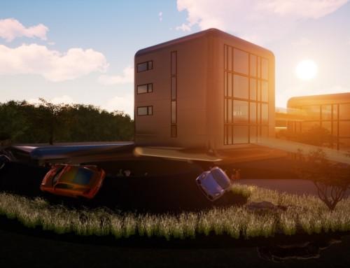 Cube-System für moderne Firmengebäude