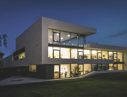 Modernes Bürogebäude in Leipzig