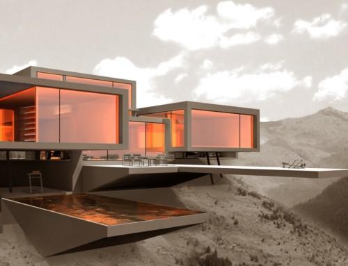 Skyhouse – futuristische Luxusvilla