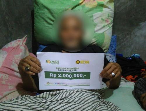 CSPeduli Sosial – Bantuan Kesehatan Bapak Sukardi Pandeglang Banten