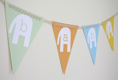 Elephant Baby Shower Free Party Printables