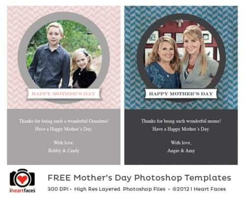 Free Mother's Day Photo Cards