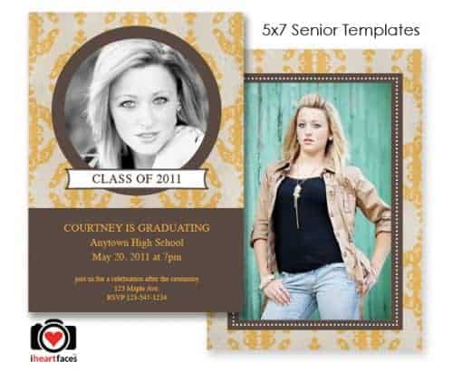 Free Photoshop Templates for Graduation