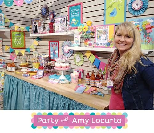 Party with Amy Locurto - Signature Product Line for Parties, Scrapbooking and Cardmaking