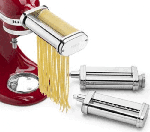 3 Piece KitchenAid Pasta Roller Cutter Set