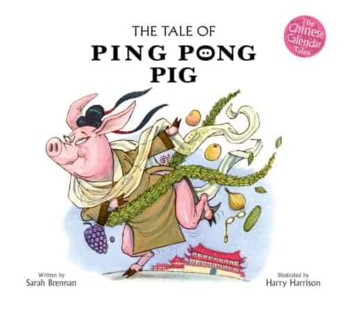 Book cover image: The Tale of Ping Pong Pig