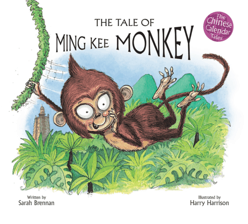 Book cover image: The Tale of Ming Kee Monkey