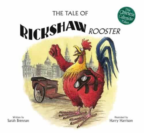 Book cover image: The Tale of Rickshaw Rooster