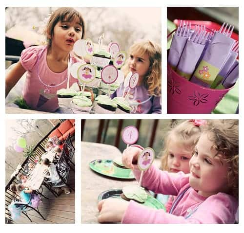 Fairy Birthday Party Ideas! Cute Party Printables by LivingLocurto.com