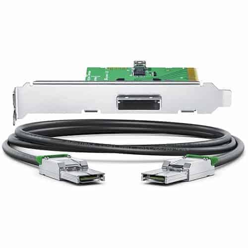 AVID PCIe Gen 3 Kit - Card and Cable - for Artist DNxIQ