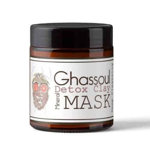 ghasoul masker - haar -hoofd-huid
