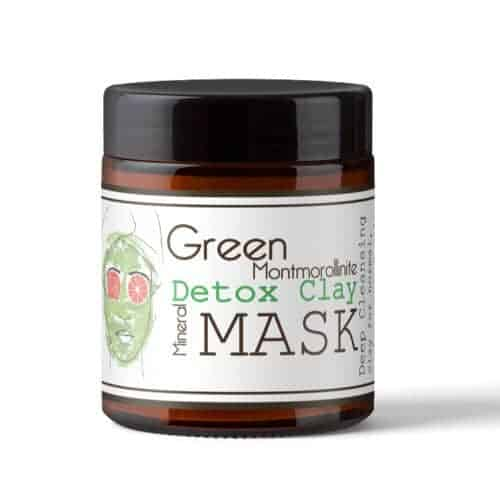 groen kleimasker - green montmorilinite detox masker