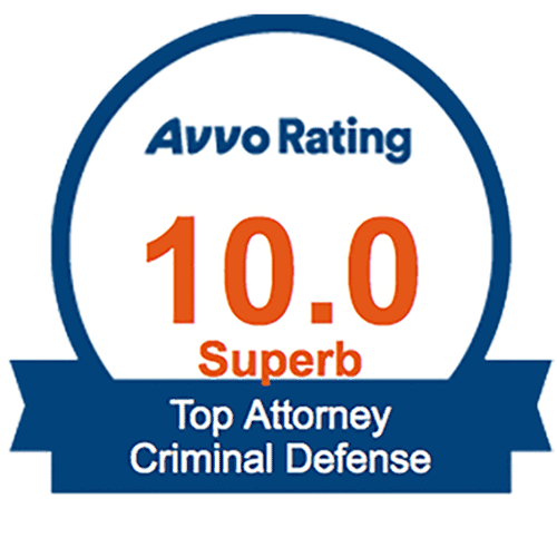 Parker Criminal Lawyer AVVO Rating 10 Superb