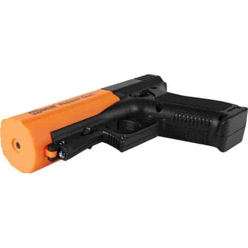 Orange Mace Brand Pepper Spray Gun 2.0 bottom view