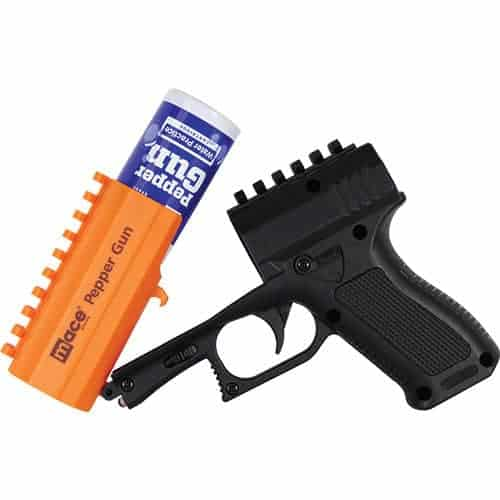 Orange Mace Brand Pepper Spray Gun 2.0 loading view