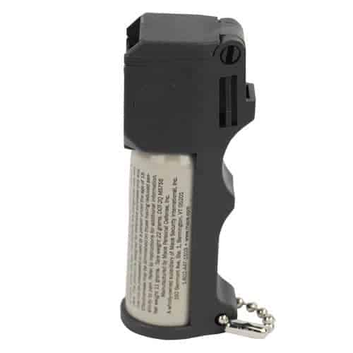 Mace® Pocket Model Triple Action Pepper Spray with Keychain in Side View