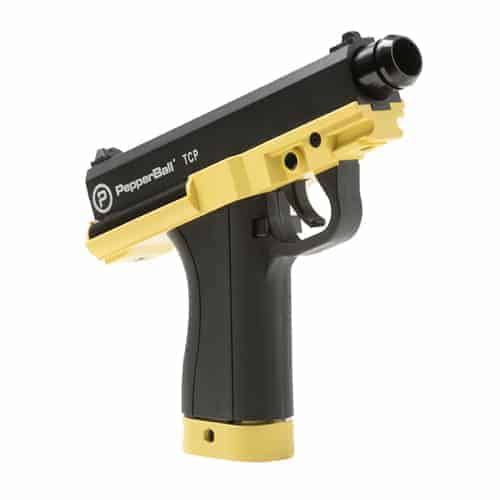 PepperBall Launcher Tactical Compact Pistol Side View