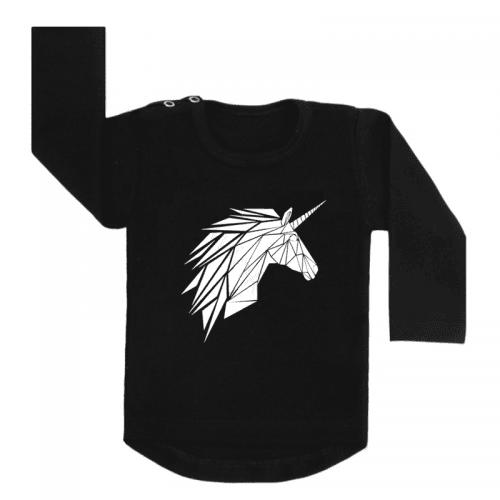 Longsleeve Zwart Unicorn
