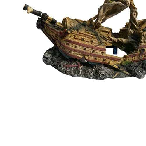 Galleon Ship With Aeration