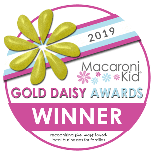 Gold Daisy award badge