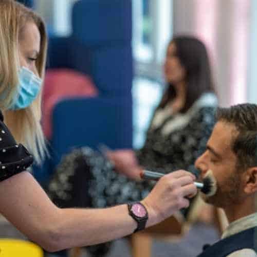 Treatwell Connect Look Forward 2021 Eventify Hybrid Covid Safe Make-up artist Carla Ramsey