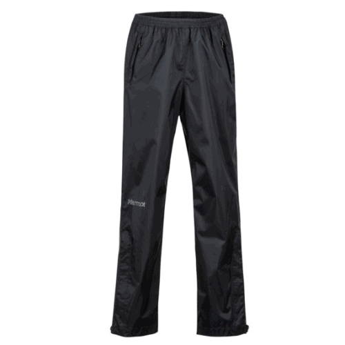 Marmot pre-cip kids pants are stretch with wide legs, handy for hking, gym class and more.