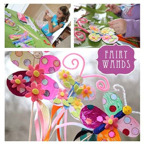 Fairy Birthday Party Ideas! Cute Party Printables & Wand Craft by LivingLocurto.com