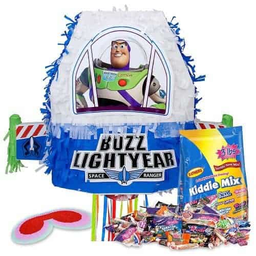 BEST Toy Story Party Ideas. Buzz Lightyear pinata