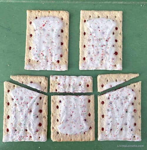 Pop tarts chicken coop food craft assembly