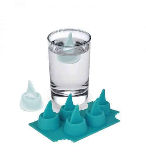 Shark ice cube trays