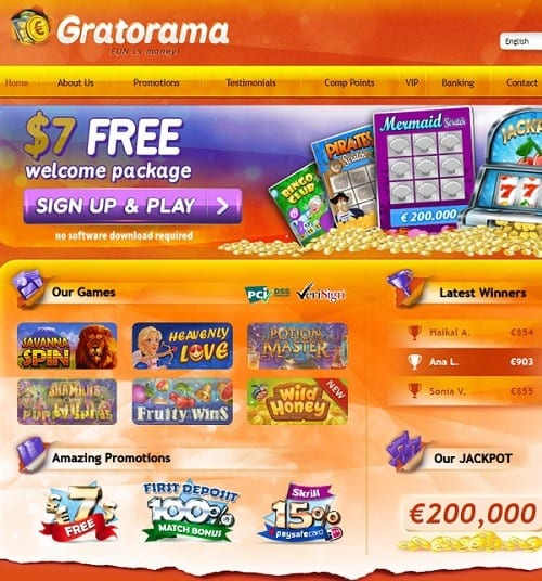 Get 70 free spins now!
