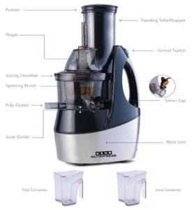 Usha Nutripress CPJ362F - Best slow juicer in India