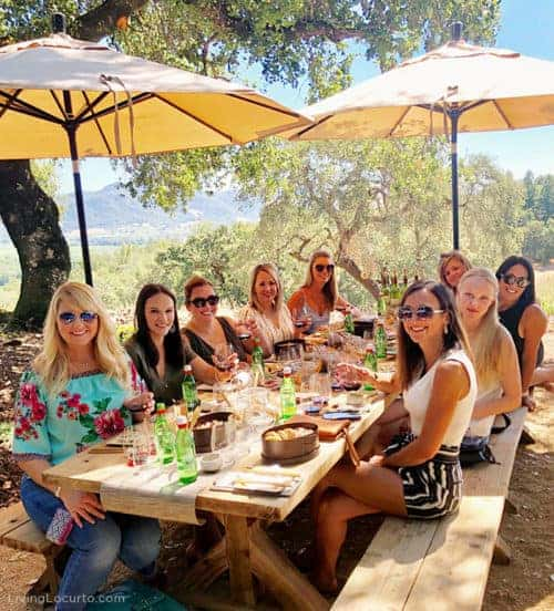 Amy Locurto Texas Food Blogger at St.Francis Winery Sonoma