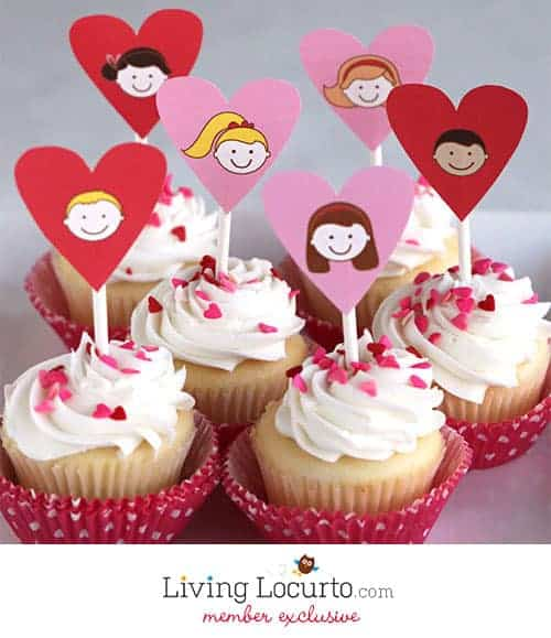 Valentine's Day Printable Party Collection For Kids by LivingLocurto.com