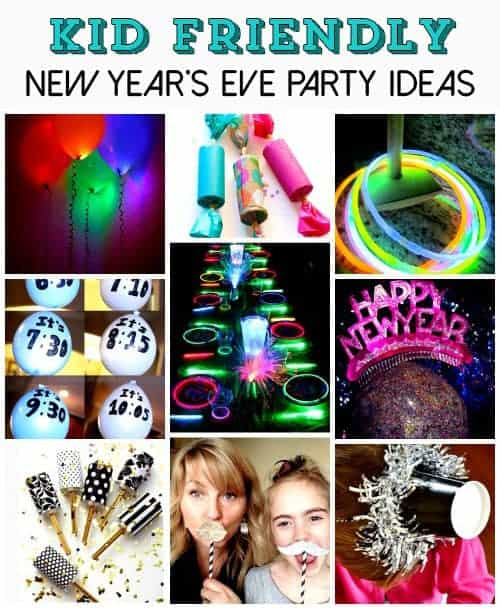 New Years Eve Party Ideas for Kids. New Year's Eve Kids Activities and Games