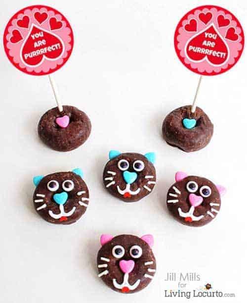 Cat-donut-fun-food-recipe-edible-craft