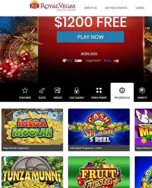Royal Vegas Online Casino Review