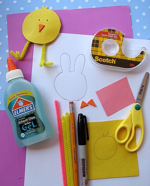 Easy DIY Easter Paper Crafts for Kids! LivingLocurto.com