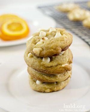 Orange Creamsicle Cookies by Like Mother Like Daughter - 15 Easy Summer Cookie Recipes