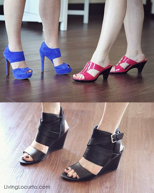 High Heels and Simple Happy Hour Party Ideas to host with your girlfriends! LivingLocurto.com