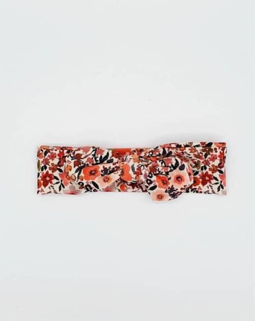 Stoffen haarband herfst bloemen