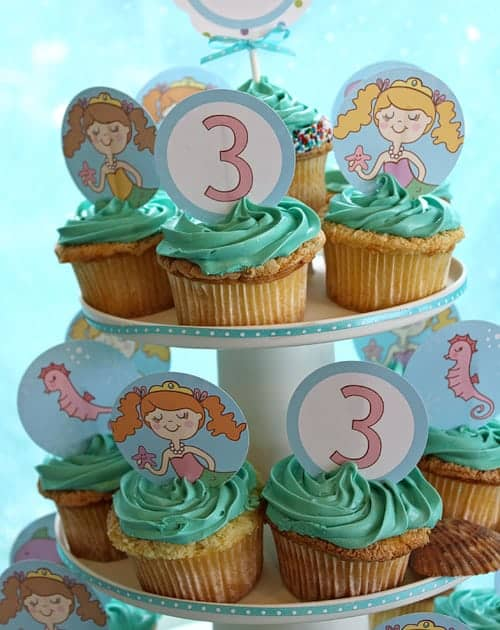 Mermaid Party Printables - Living Locurto - Party ideas