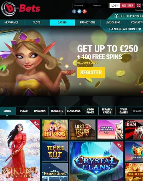 Play 100 free spins on slot machine games!
