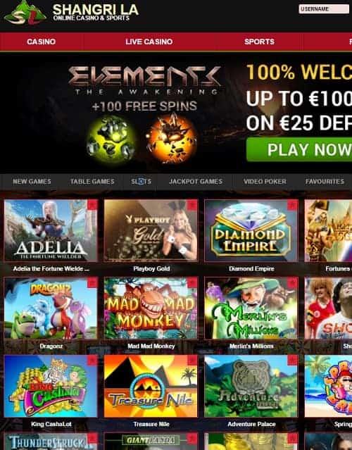 Shangri La Casino Review