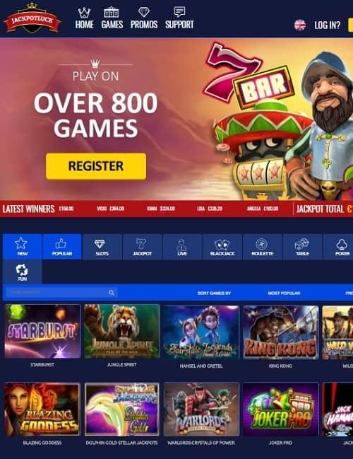 Jackpot Luck Casino Review