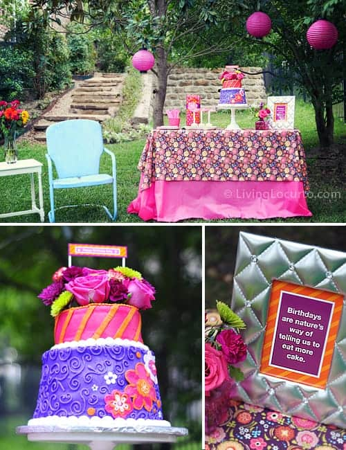Outdoor Garden Birthday Party Ideas - LivingLocurto.com